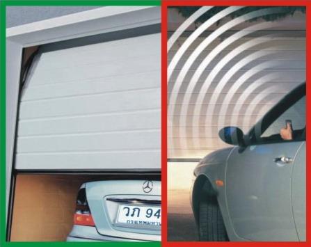 ภาพประตูโรงรถเพิ่มเติม